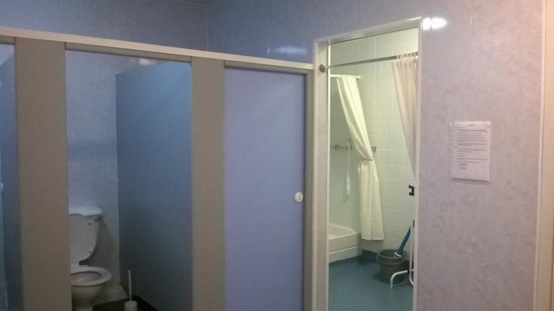 Peterlee HQ showers & toilet