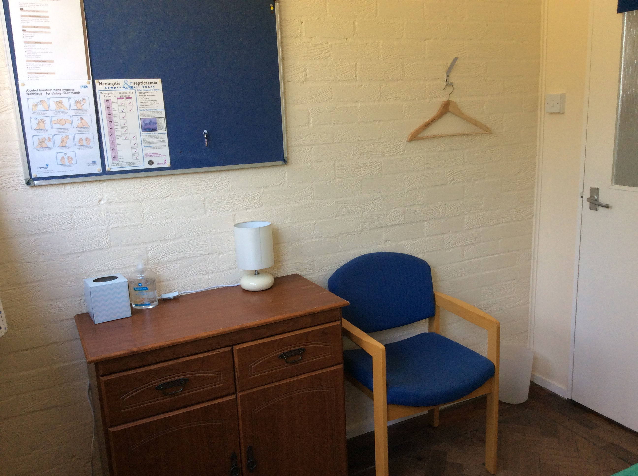 Camp House First Aid Room